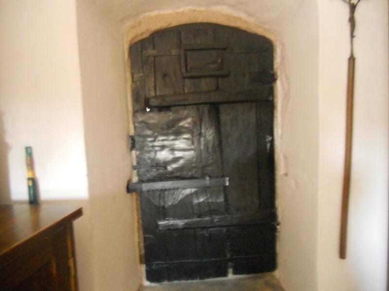 Sakristei Eingangstür