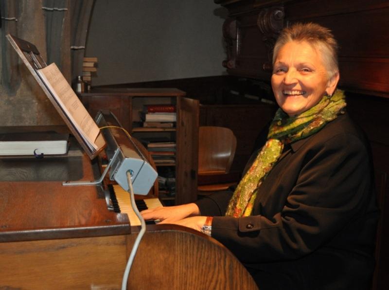 Organistin Marianne Tlacbaba