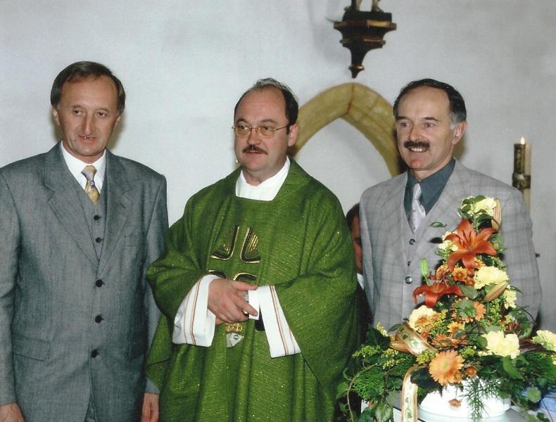 Foto Gemeindechronik (J. Neudorfer, P. Gerhard, BGM K. Latscheberger)