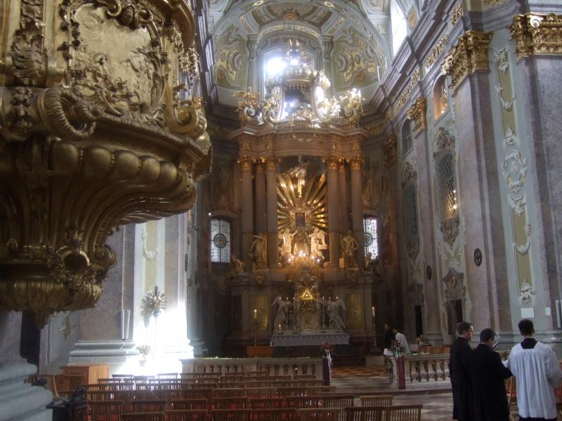 Basilika Sonntagberg innen