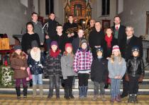 Die Mitwirktenden beim Adventkonzert