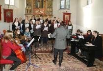 Christkönigsmesse-Chor