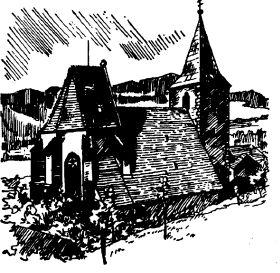 Pfarrkirche Zeichnung