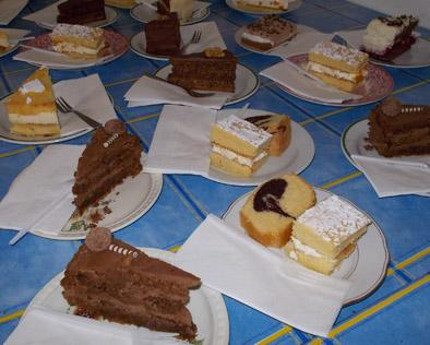 Pfarrkaffee Kuchen