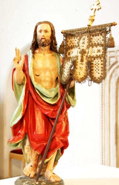 Statue des Auferstandenen