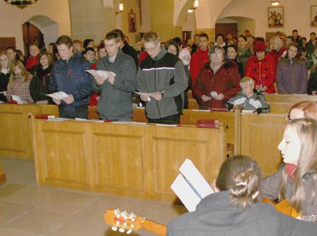 Jugendmesse in der Pfarrkirche