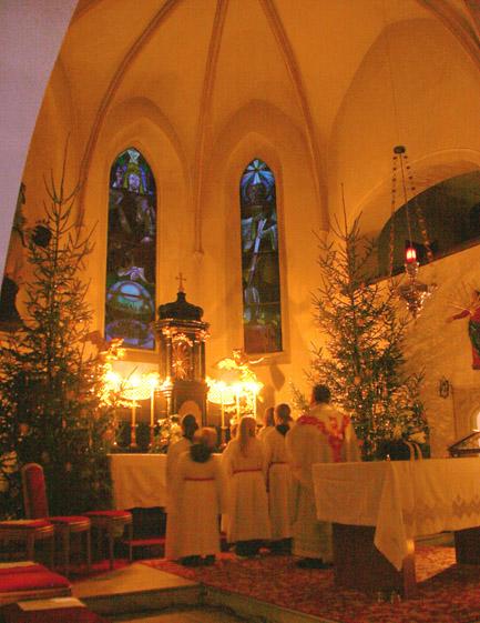 Kircheninneres Mette