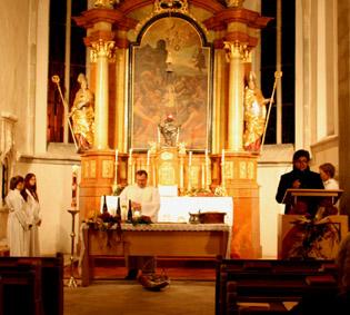 Messe in Unterwölbling